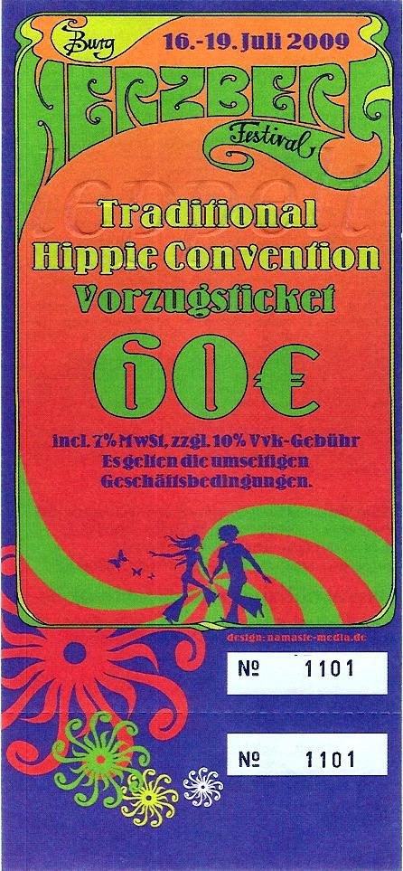Hippie Convention Burg Herzberg